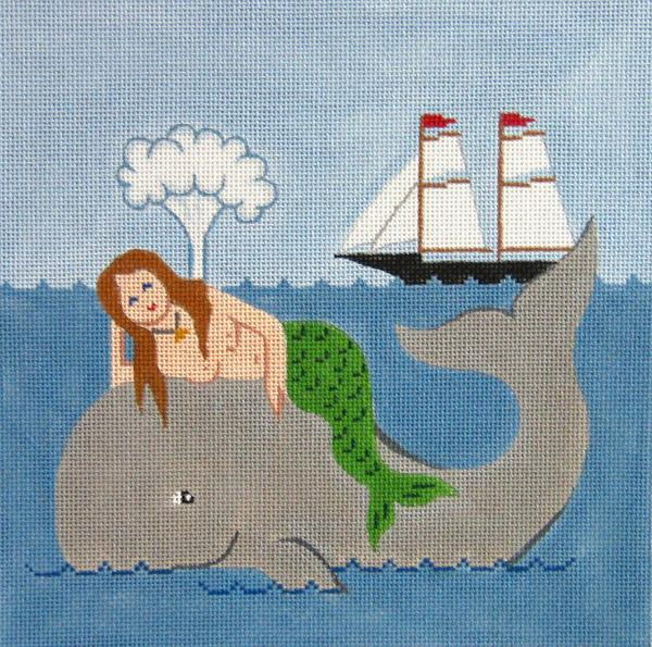 Mermaid on the Whale