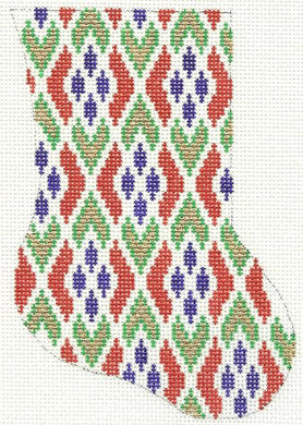 Bargello Minisock