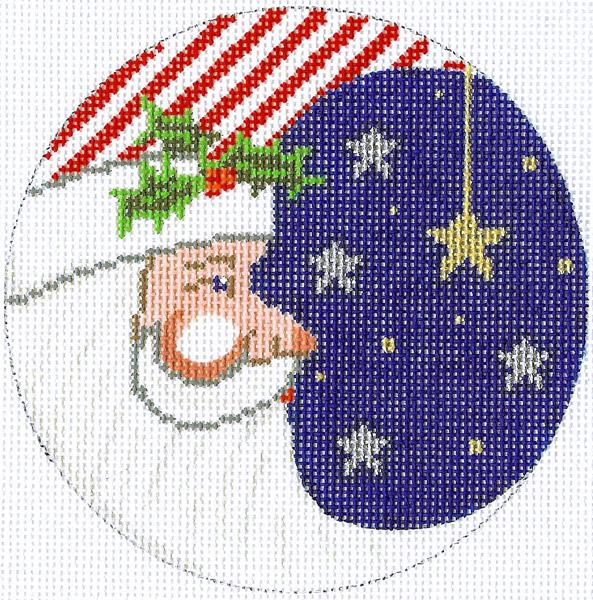 Partriotic Santa Ornament