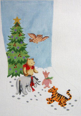 Pooh & Friends Christmas Stocking