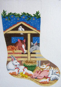 Barnyard Christmas Stocking