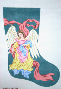 Neapolitan Angel Christmas Stocking