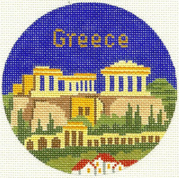 Greece Ornament