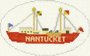 Nantucket Lightship Ornament