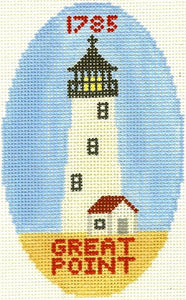 Great Point Lighthouse Ornament