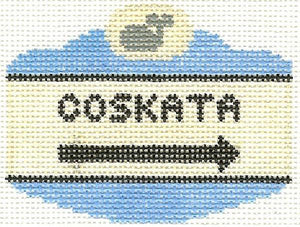 Coskata Sign Ornament