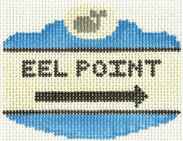 Eel Point Sign Ornament