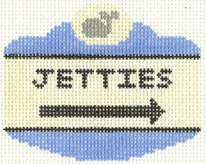 Jetties Sign Ornament