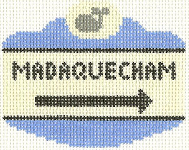 Madequecham Sign Ornament