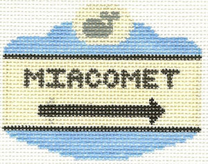Miacomet Sign Ornament