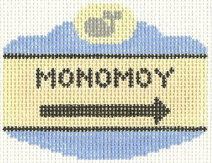 Monomoy Sign Ornament