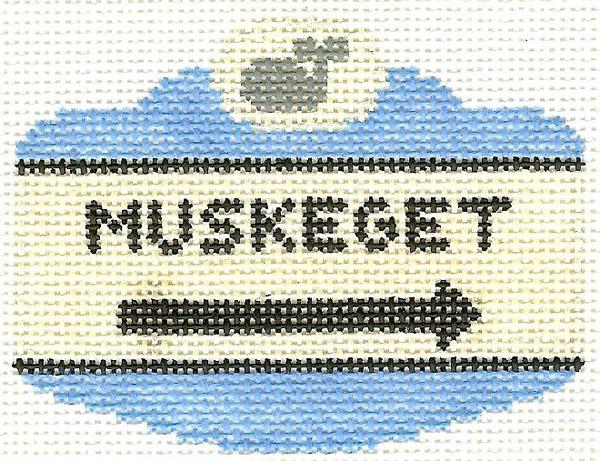 Muskeget Sign Ornament