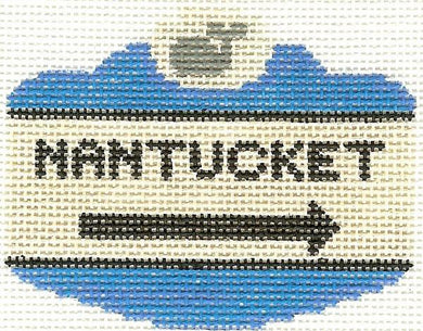 Nantucket Sign Ornament