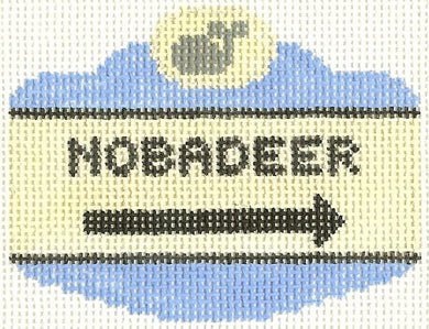 Nobadeer Sign Ornament