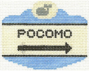 Pocomo Sign Ornament