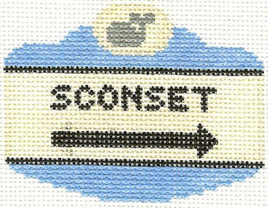 Sconset Sign Ornament