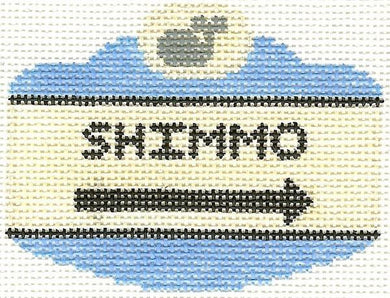 Shimmo Sign Ornament
