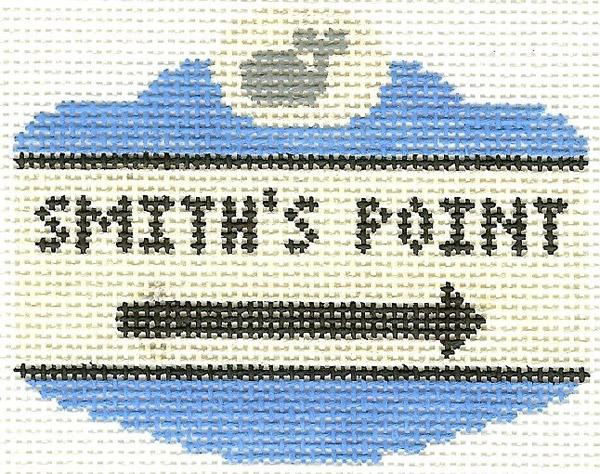 Smith's Point Sign Ornament