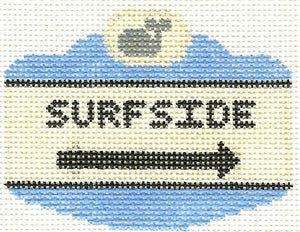 Surfside Sign Ornament