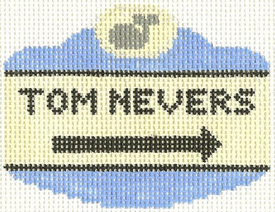 Tom Nevers Sign Ornament