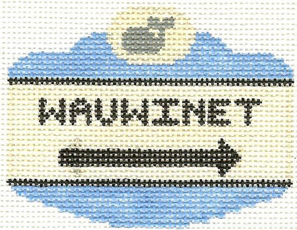 Wauwinet Sign Ornament