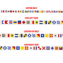 Signal Flag Alphabet Belt