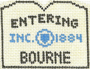Bourne Sign Ornament