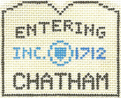 Chatham Sign Ornament