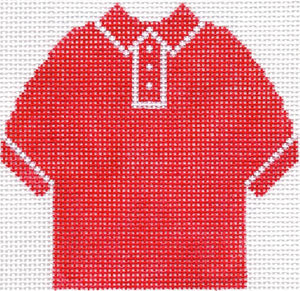 Red Polo Shirt Ornament