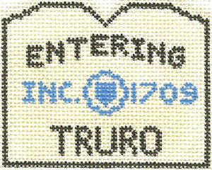 Truro Sign Ornament