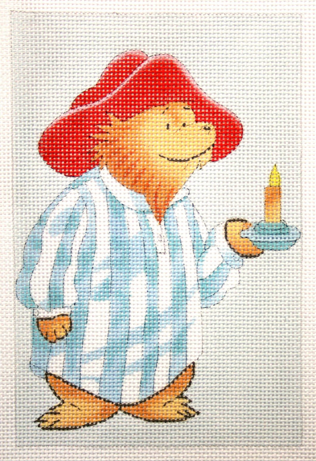 Paddington with Candle