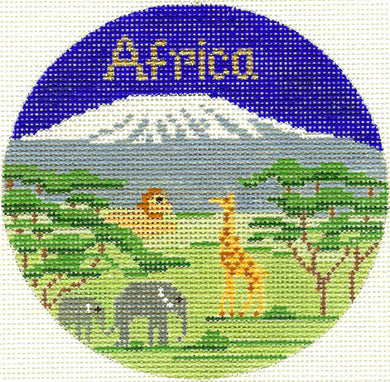Africa Ornament