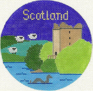 Scotland Ornament