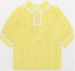Yellow Polo Shirt Ornament