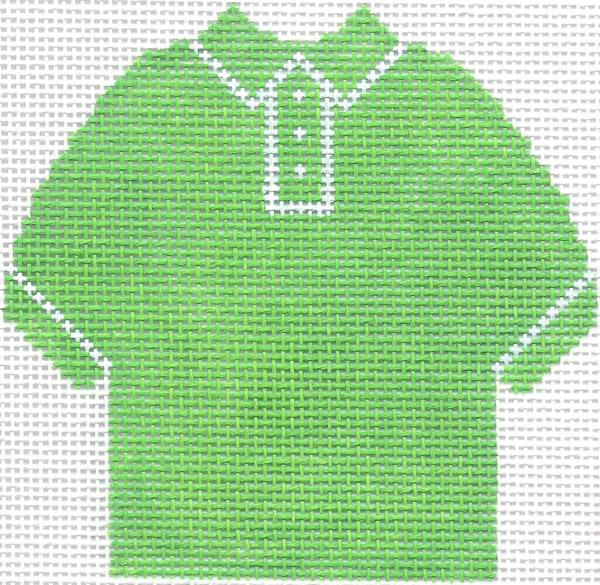 Lime Green Polo Shirt Ornament