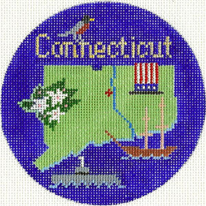 Connecticut Ornament