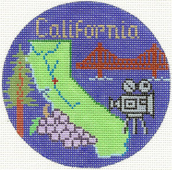 California Ornament
