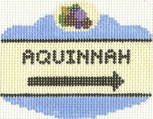 Aquinnah Sign Ornament