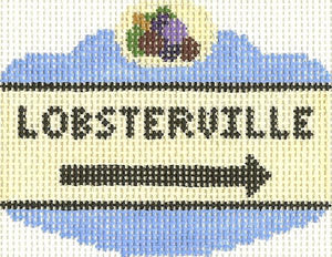 Lobsterville Sign Ornament