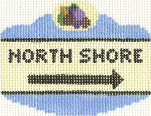 North Shore Sign Ornament