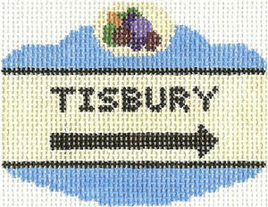 Tisbury Sign Ornament