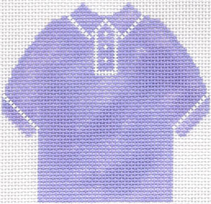 Lilac Polo Shirt Ornament