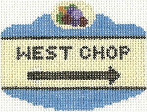 West Chop Sign Ornament
