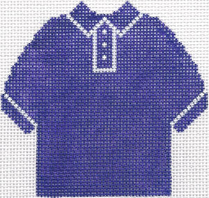 Purple Polo Shirt Ornament