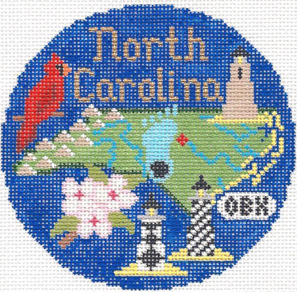 North Carolina Ornament