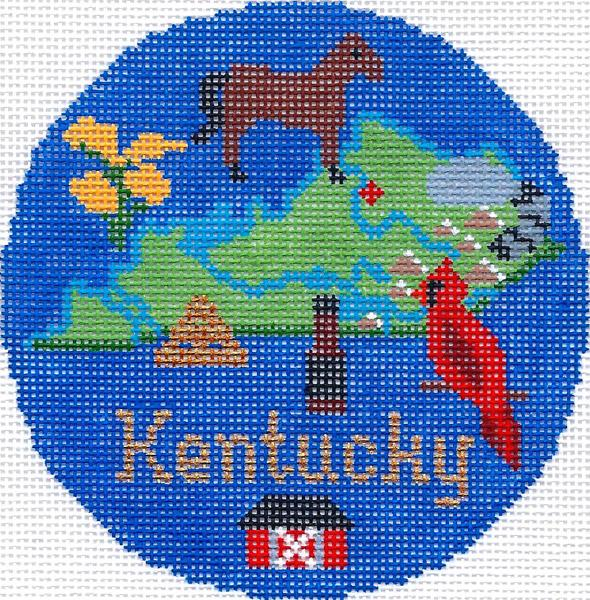 Kentucky Ornament