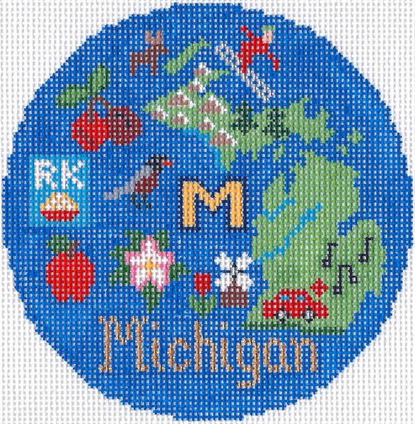 Michigan Ornament