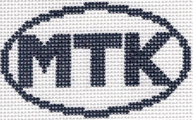 MTK (Montauk, NY) Oval Ornament