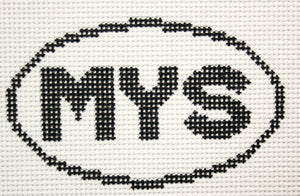 MYS (Mystic, CT) Oval Ornament
