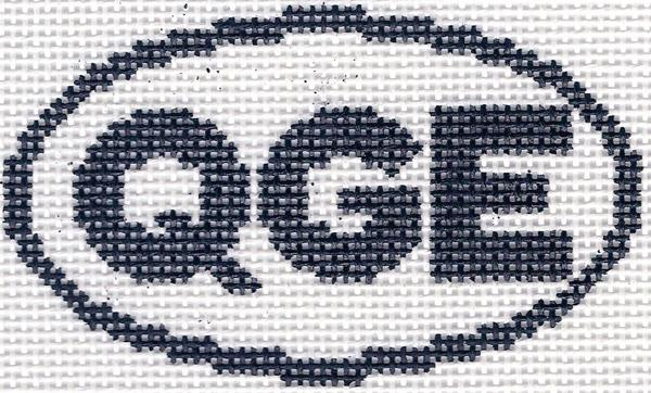 QGE (Quogue, NY) Oval Ornament